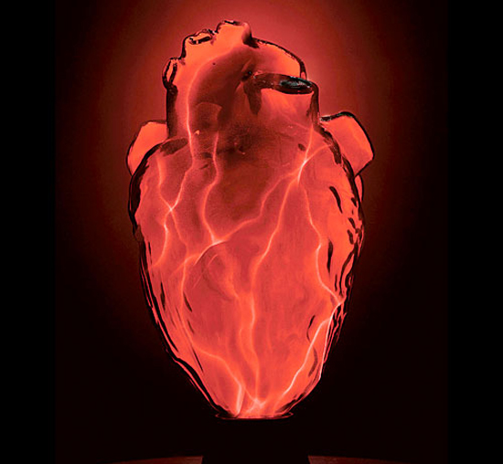 Ηλεκτρική λάμπα πραγματική καρδιά