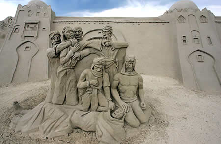 Γλυπτά από άμμο