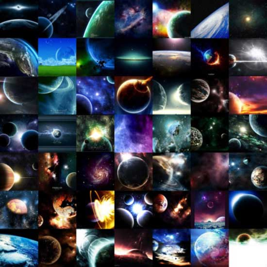 Space and planet wallpapers