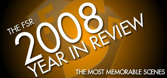 The Ten Most Memorable Scenes of 2008