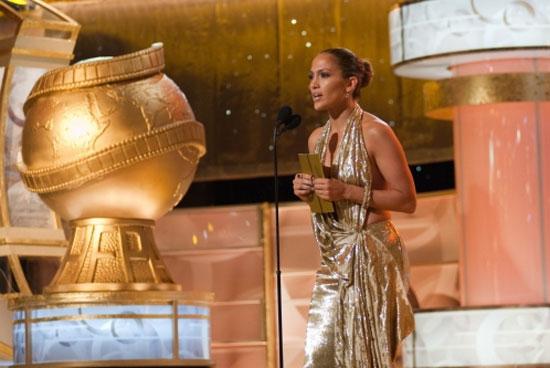 Χρυσές Σφαίρες 2009: Η Jennifer Lopez κάνει απονομή βραβείου