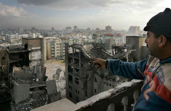 Η κατεστραμμένη πόλη της Γάζας