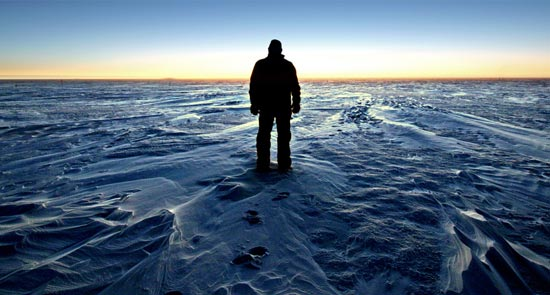 Man In Antarctica