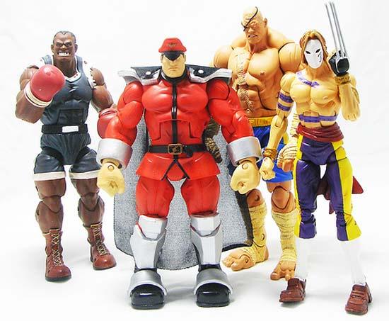 SOTA Street Fighter Toys