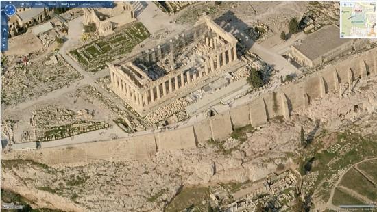 Acropolis - Virtual Earth