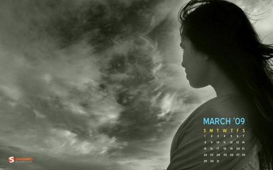 Wallpaper/Calendar March 2009