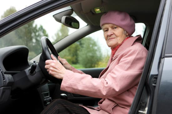 Old Lady Driver