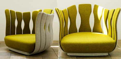 Παράξενες και περίτεχνες καρέκλες