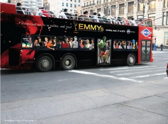 Ζωγραφιές σε λεωφορεία