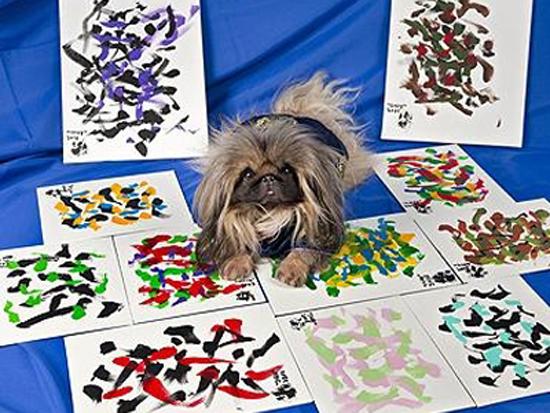 Ζωγραφιές σκύλου