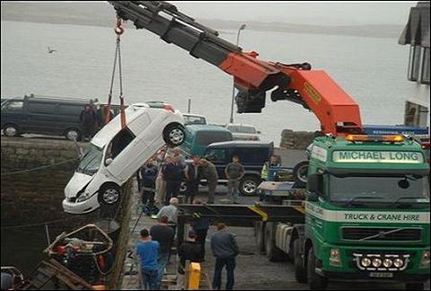 Funny Accident