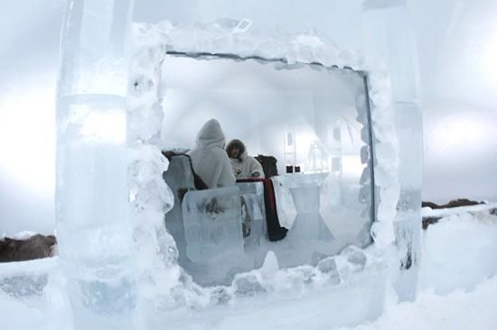 Ξενοδοχείο στον πάγο στην Ιαπωνία