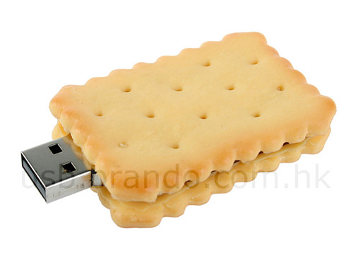 Realistic usb flash drives Biscuit