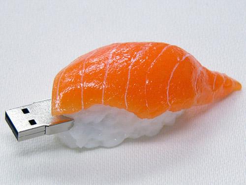 Realistic usb flash drives sushi