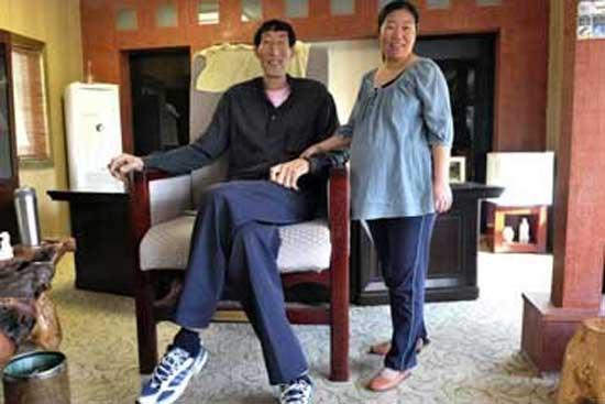 Ο ψηλότερος άνθρωπος του κόσμου
