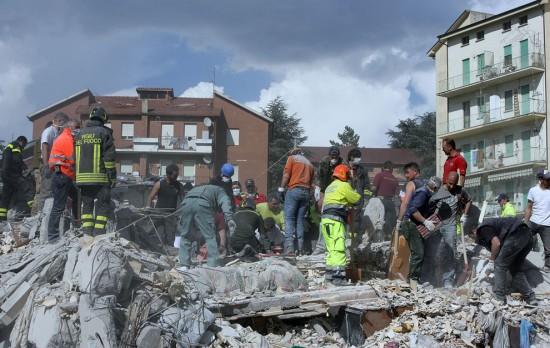 Ο σεισμός στη L'Aquila