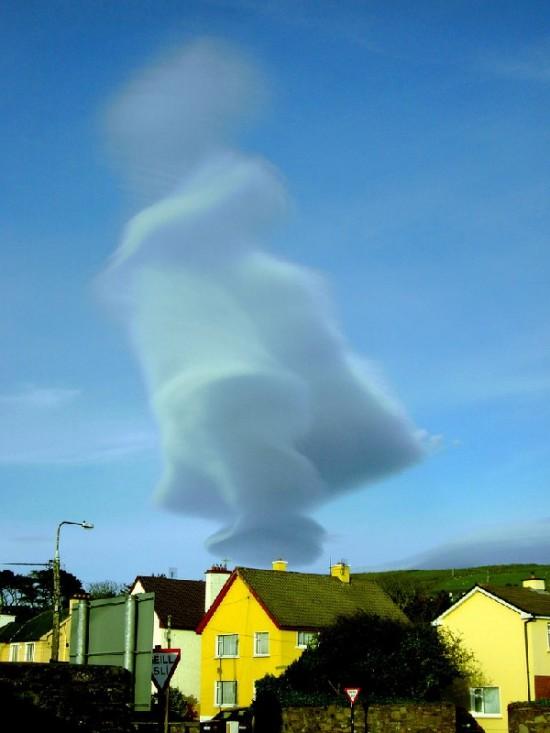Εντυπωσιακά σύννεφα