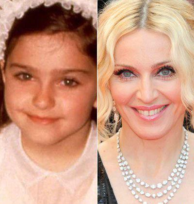 Διάσημοι σε παιδική ηλικία και τώρα