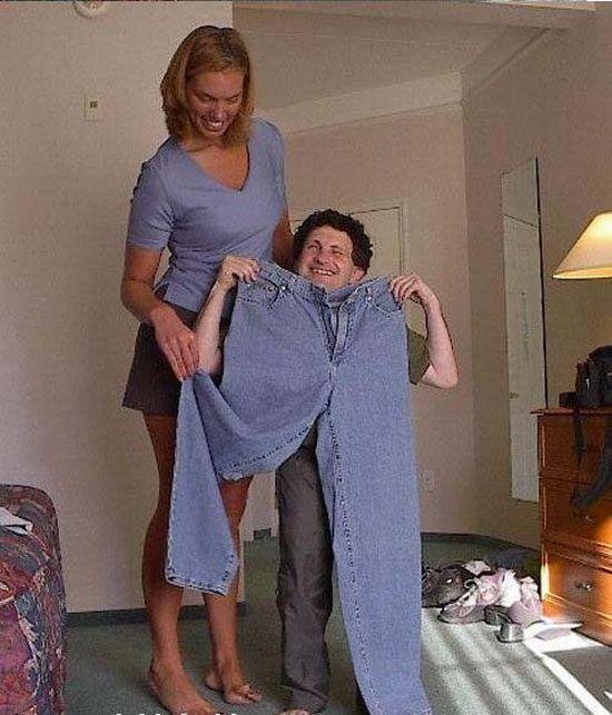 Το ύψος δεν έχει καμία σημασία