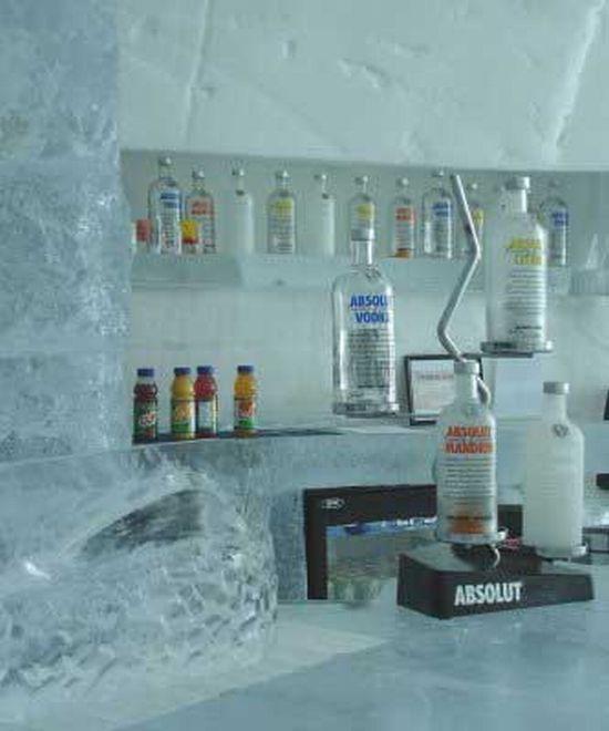 Ξενοδοχείο από πάγο στην Σουηδία