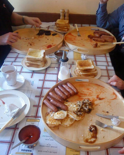 Πρωινό γεύμα- πρόκληση