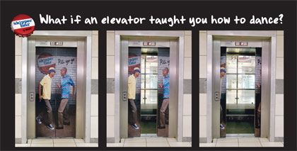 Παράξενες διαφημίσεις σε ασανσέρ
