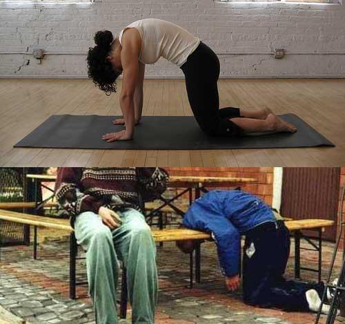Yoga vs Αλκοόλ