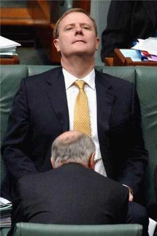 Αστείες στιγμές πολιτικών