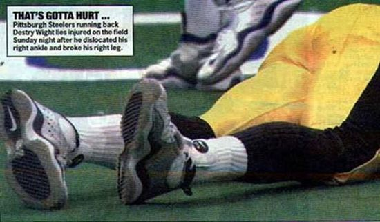 Worst Sports Accidents