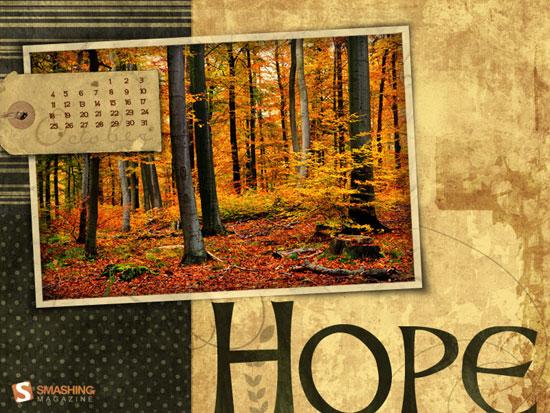 Wallpapers ημερολόγιο Οκτωβρίου 2009