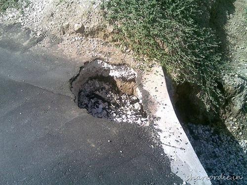 Επικίνδυνες τρύπες στους δρόμους