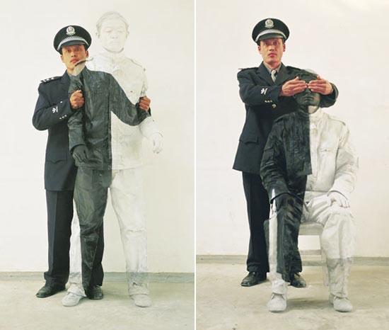 Liu Bolin: Ο αόρατος άνθρωπος