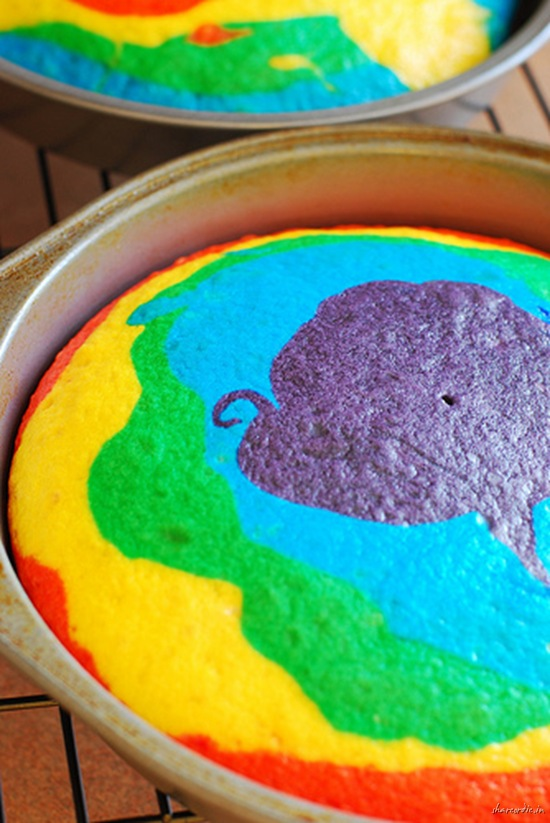Κέικ ουράνιο τόξο