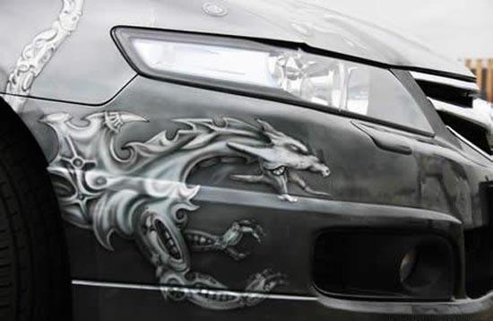 Graffiti σε αυτοκίνητα
