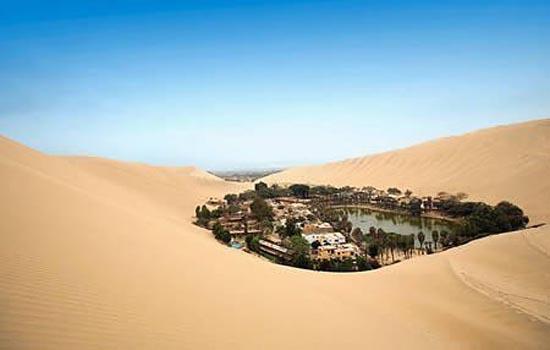 Οάσεις- Έρημος: Υπέροχα τοπία