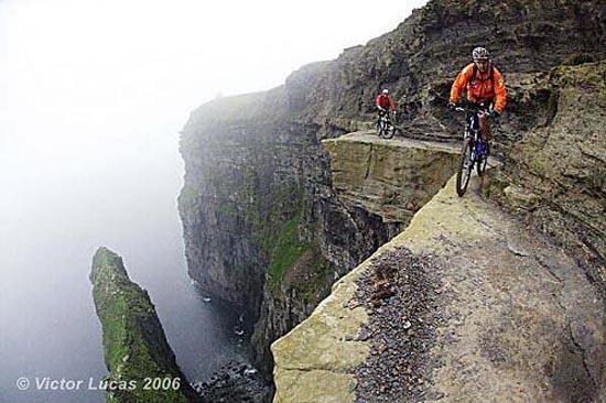 Η πιο τρομακτική διαδρομή ποδηλάτου