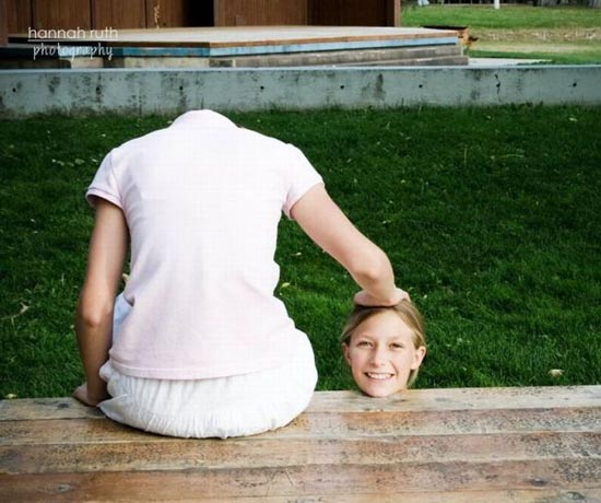 Αστείες φωτογραφίες από παράξενη γωνία λήψης
