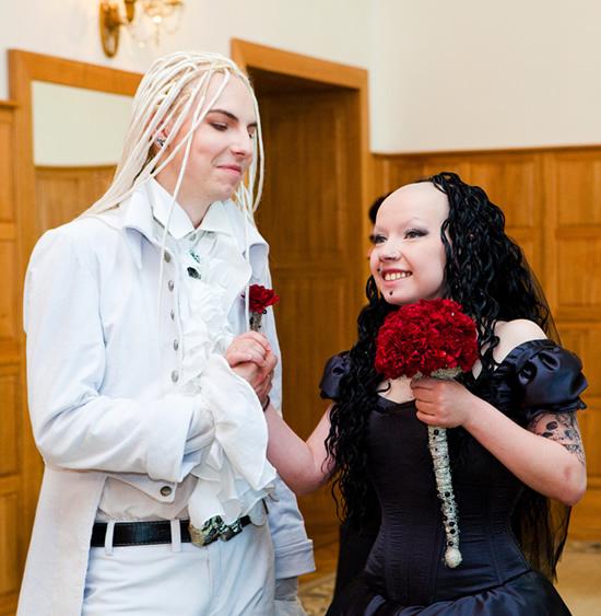 Gothic γάμος
