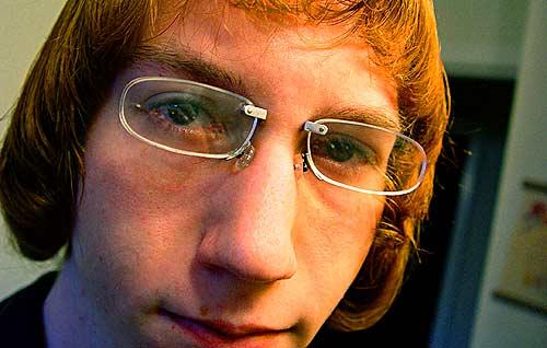 Γυαλιά μυωπίας με piercing