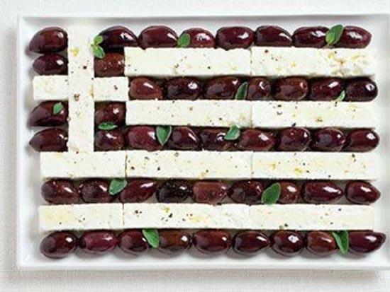 Σημαίες από φαγητά