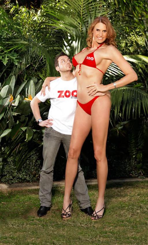Το ψηλότερο μοντέλο στον κόσμο