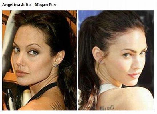 Διάσημοι που μοιάζουν μεταξύ τους