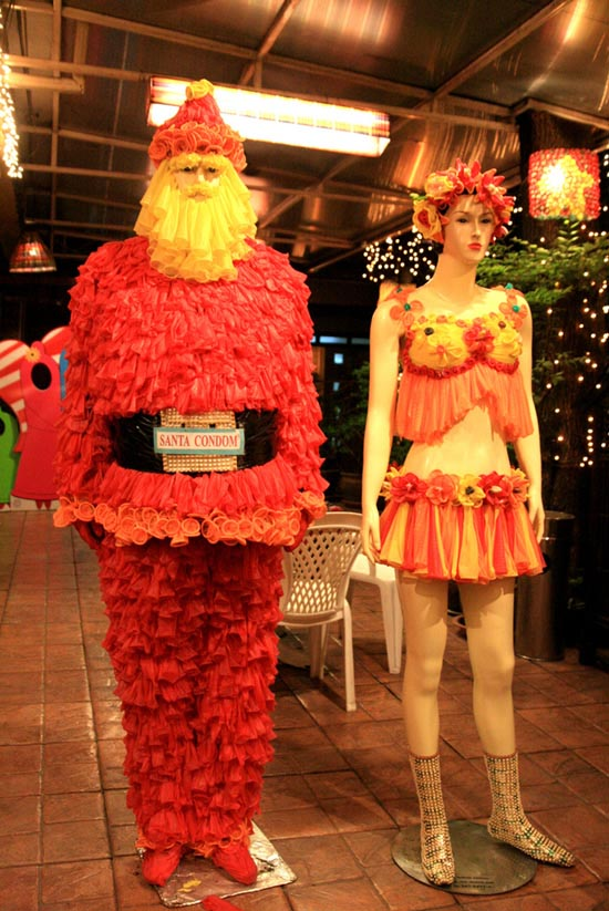 Άγιος Βασίλης από προφυλακτικά