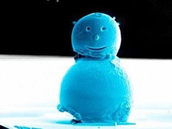 Χιονάνθρωπος 0,01 χιλιοστών