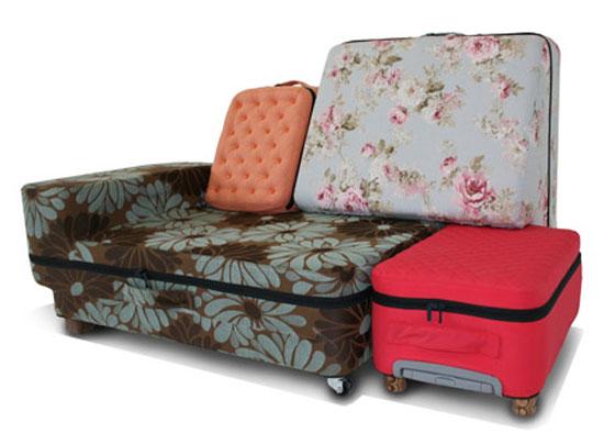 Βαλίτσα- Καναπές