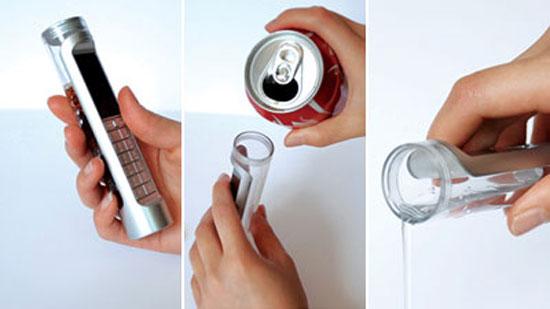 Κινητό τηλέφωνο που λειτουργεί με Coca Cola