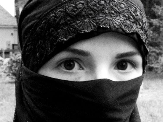 Κορίτσι με Burqa