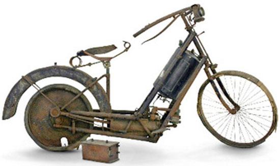 1894 είναι η πρώτη δίκυκλη μοτοσυκλέτα