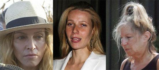 Celebrities χωρίς make up