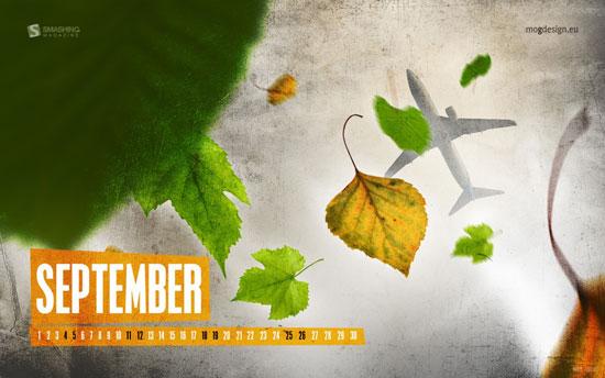 Wallpapers ημερολόγια Σεπτεμβρίου 2010